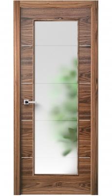 Versa Vetro Interior Door American Walnut