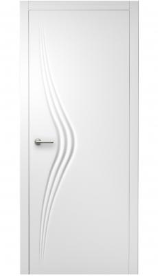 Wave Interior Door Royal White